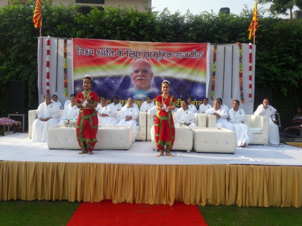 Group meditation program on 30,Spt at Bk Centre Ballabgarh