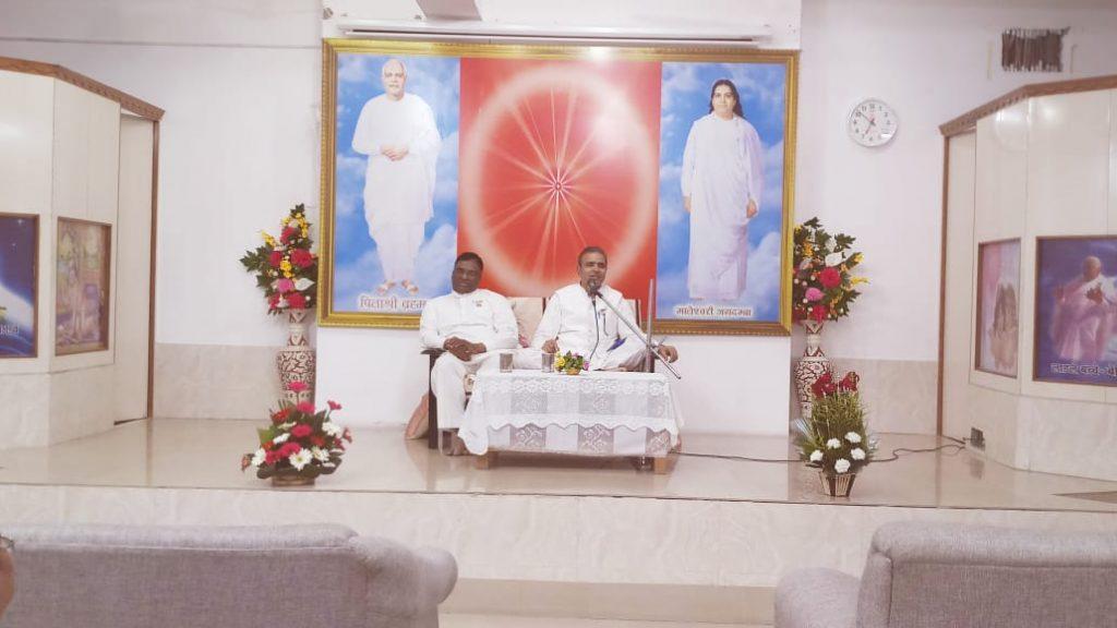 Class by BK SHIVANAND BHAI, Sector 11C